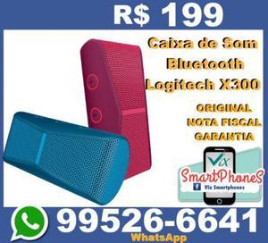 Caixa de Som Bluetooth Logitech X300 Lacrado com Nota Fiscal