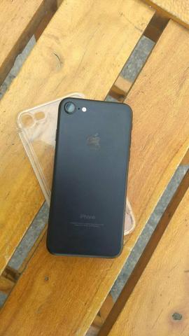 IPhone 7 32g preto fosco completo