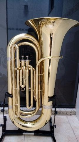 Tuba Jahnke 4/4 Compacta NOVINHA // Sib // Parcelo 12x /