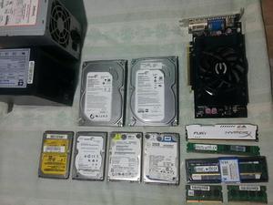 Fontes,HDS, memórias e placa de vídeo!