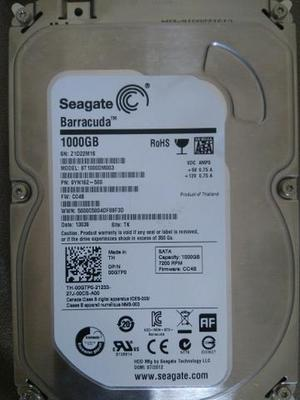 HD Seagate SATA BarraCuda 1TB