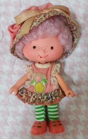 Boneca Moranguinho Pesseguinho - Rara e Completa Anos 80 -