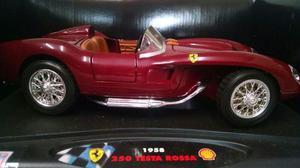 Ferrari 250 Testa Rossa  Miniatura Hot Wheels 1/18