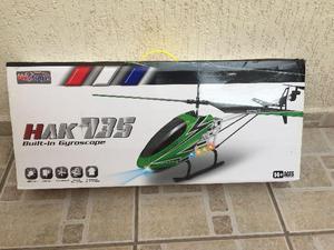 Helicóptero HAK 735 - com controle remoto