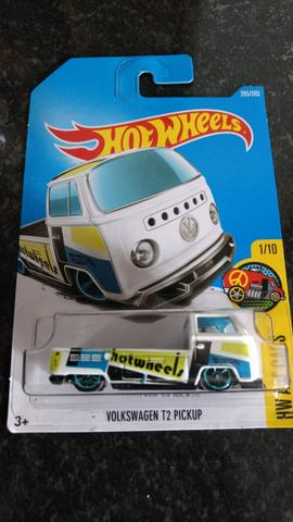 Hot Wheels Kombi Picape Branca