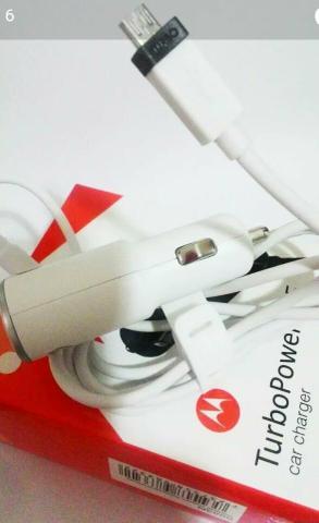 Carregador Veicular Turbo Pawer Motorola