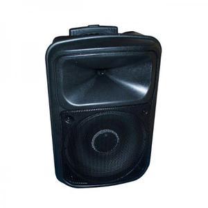 Caixa De Som Bateria 2 Microfones Sem Fio Bluetooth + brinde