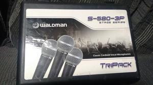 Kit Microfone Dinâmico