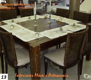 Mesas de jantar em grande promoção em Porto Alegre