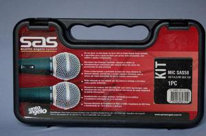 Microfone Santo Angelo Dinâmico Cardióide Oferta