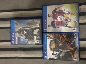 Combo de jogos de Playstation 4