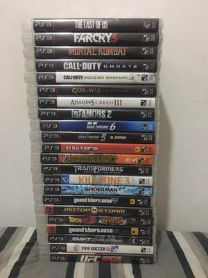 Combo/Conjunto de 22 jogos de Playstation 3