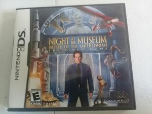 Jogo Nintendo Ds Uma Noite No Museu