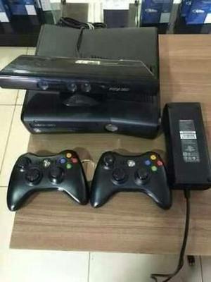 Xbox destravado + Kinect + 2 controles + jogos