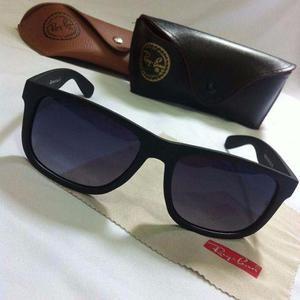 Óculos de sol Rayban Justin Preto lente em Degrade Original