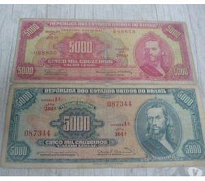 COMPRO NOTAS ANTIGAS DE  CRUZEIROS, PAGO R$10 CADA