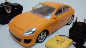 Carrinho RC Porschee C/ Bateria E Carregador-acende Luz