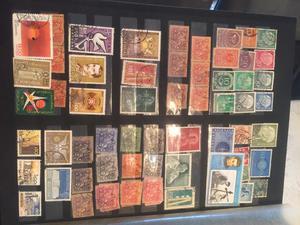 Coleções de selos nacionais e internacionais