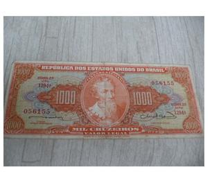 Compro Cédulas Antigas De 500 Cruzeiros Pago Até R$10 Cada