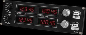 Flight Radio Panel Simulador Controle de radionavegação de