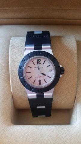 Relógio bvlgare aluminium aceito troca por Omega speedmaste