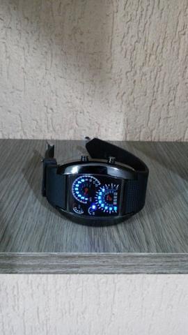 Relógio de Led mod. Velocímetro