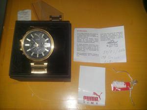 Sonho: Relógio Puma Original completo semi-novo