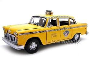 Taxi Checker Cab New York 1:18