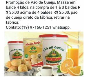 Pão de queijo Sabores  na Grande São Paulo