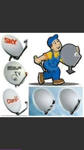 Tecnico sky claro oi tv instalação e manutenção de
