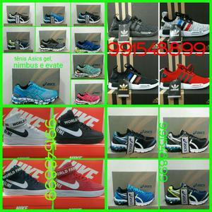 Tênis Nike Air force e Asics gel nimbus