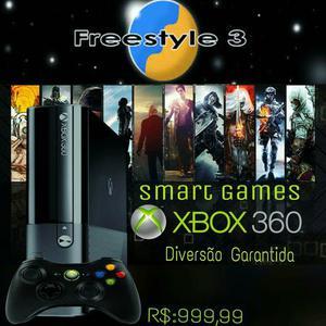 Xbox 360 Ultra Slim 500G Rgh C/ 60 Jogos