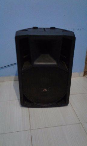 Caixa de Som Amplificada Ativa 300W RMS
