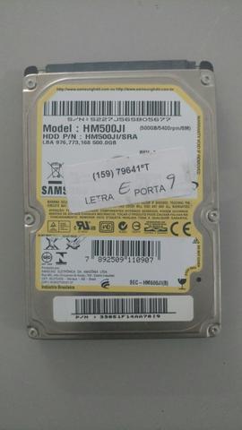 HD notebook samsung hm500ji 500gb
