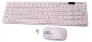 Kit Teclado + Mouse Sem Fio Combo Bk-sghz Exbom Novo