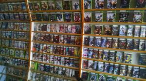 Loja de jogos e acessorios para Xbox e Ps3, grande