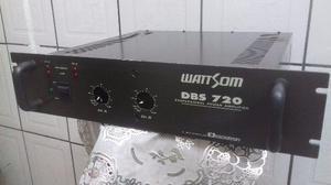 Potencia wattsom dbs 720 ciclotron, aceito tv lcd led