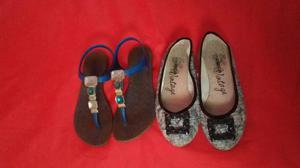 Lote 2 sapatos n34!!