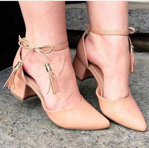 Sapatos de salto direto da fabrica