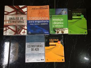 Coleção de livro para engenharia ou arquitetura