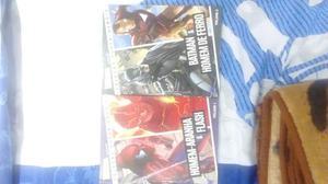 Coleção homem aranha e flash