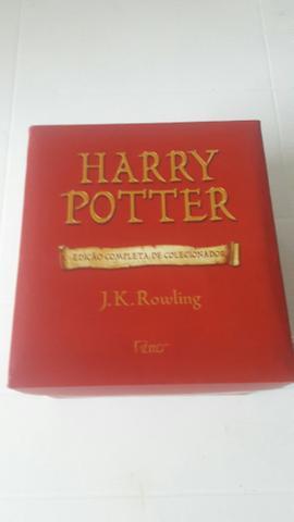 Harry Potter edição completa de colecionador fora de