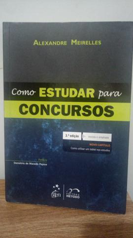 Livro Como Estudar para Concursos