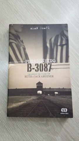 Livro Prisioneiro B-. Autor Alan Gratz.Editora Ática