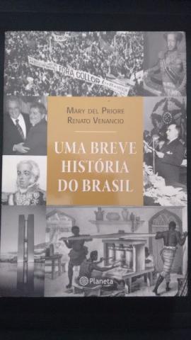 Livro Uma breve história do Brasil - Mary del Priore
