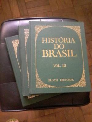 Livro a História do Brasil vol.1, 2, 3 Ótimo Estado