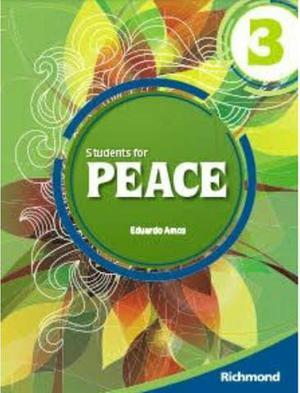 Livro de inglês Students for peace - Eduardo Amos - Vol. 3