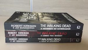 Livros - The Walking Dead (3 volumes)