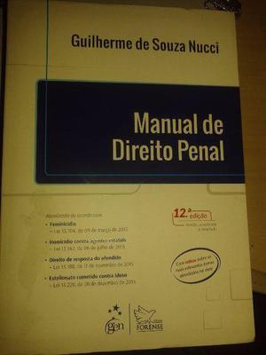 Manual de Direito Penal - Nucci (Promoção)