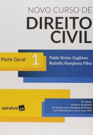 Novo Curso de Direito Civil Vol.1